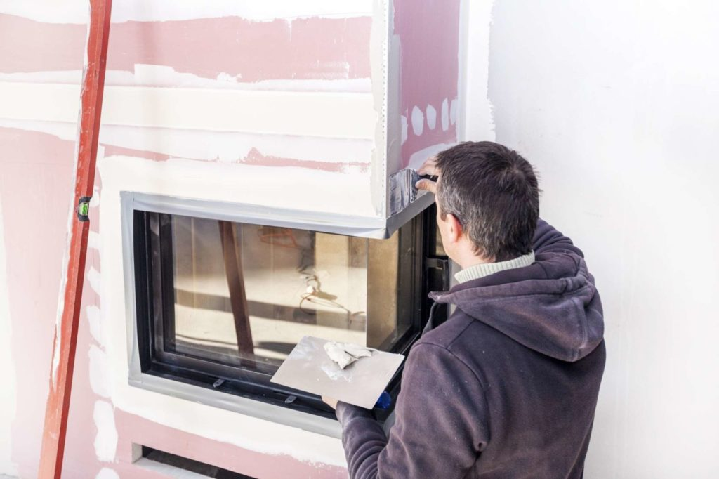 A dealer usually offers the installation service with the purchase.