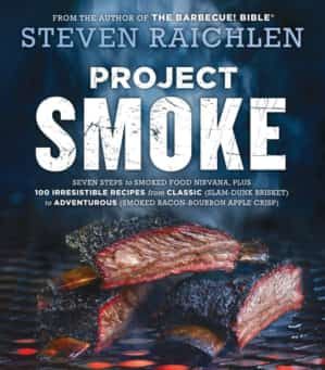 Smoked cherry-glazed ribs, Excerpted from Project Smoke by Steven Raichlen (Workman Publishing). Copyright © 2016. Photographs by Matthew Benson.