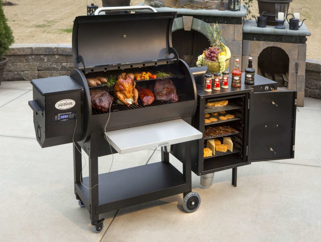 Louisiana Grills barbecue aux granules patio – Passion Feu